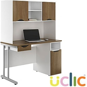 NEXT DAY Create Sylvan Combination Desks £321 - Next Day Office Furniture