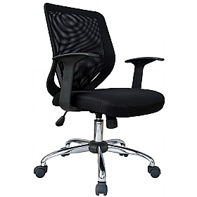 essentials mesh office chair mesh chairs less 100. Black Bedroom Furniture Sets. Home Design Ideas