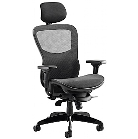 Raptor Full Mesh Office Chair With Headrest £456 - Office Chairs