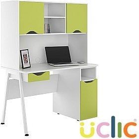 NEXT DAY Aspire Kaleidoscope Combination Desks £331 - Next Day Office Furniture