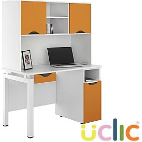 NEXT DAY Engage Kaleidoscope Combination Desks £385 - Next Day Office Furniture