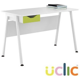 NEXT DAY Aspire Kaleidoscope Single Drawer Desks £112 - Next Day Office Furniture