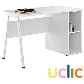 NEXT DAY Aspire Kaleidoscope Open Pedestal Desk £132 - Next Day Office Furniture
