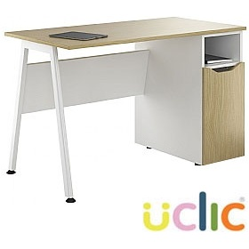 NEXT DAY Aspire Sylvan Pedestal Desks £191 - Next Day Office Furniture