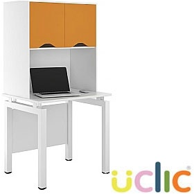 NEXT DAY Engage Kaleidoscope Desks With Closed Storage £284 - Next Day Office Furniture