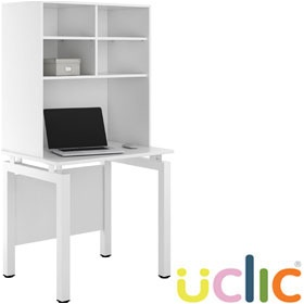 NEXT DAY Engage Kaleidoscope Desks With Open Storage £226 - Next Day Office Furniture