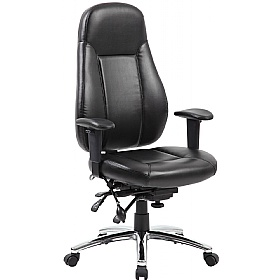 beta 24 hour leather task chair leather office chairs