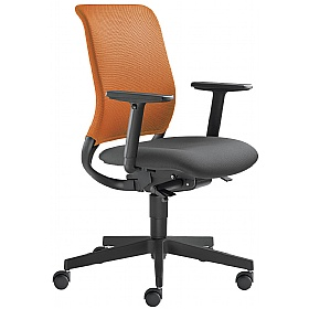 Theo Fabric & Mesh Operator Chair £251 - Office Chairs