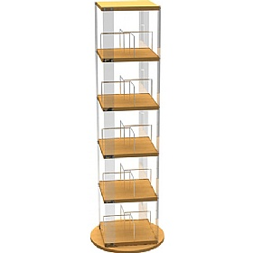 Paperback Book and DVD Tower Spinner £106 - Education Furniture