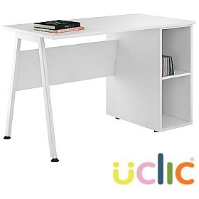 NEXT DAY Aspire Reflections Open Pedestal Desk £141 - Next Day Office Furniture