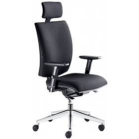 Lyra Fabric Executive Chair £285 - Office Chairs