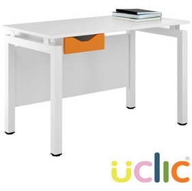 NEXT DAY Engage Kaleidoscope Single Drawer Desks £169 - Next Day Office Furniture