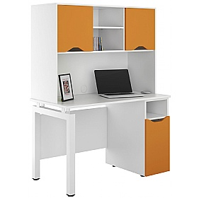 NEXT DAY Engage Kaleidoscope Pedestal Desks With Closed Storage £308 - Next Day Office Furniture