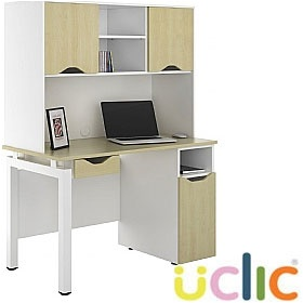 NEXT DAY Engage Sylvan Combination Desks £349 - Next Day Office Furniture