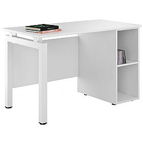 NEXT DAY Engage Reflections Open Pedestal Desk £158 - Next Day Office Furniture