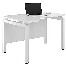 NEXT DAY Engage Reflections Corner Desks £160 - Next Day Office Furniture