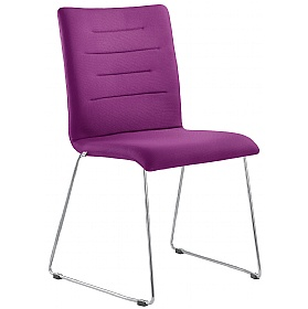 Tango Fabric Skid Base Conference Chair £261 - Office Chairs