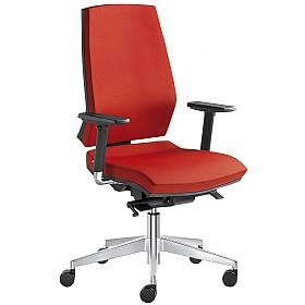 Stream Fabric Operator Chair £286 - Office Chairs