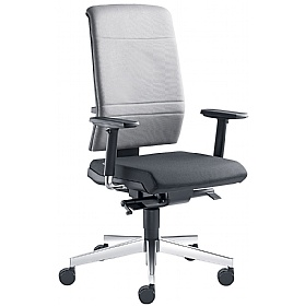 Zeta Fabric Operator Chair £359 - Office Chairs