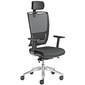 Lyra Net Fabric & Mesh Executive Chair £426 - Office Chairs