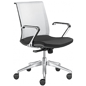 Lyra Net Fabric & Mesh Task Chair £315 - Office Chairs