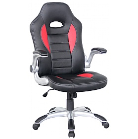 Rocaro Leather Faced Office Chair £113 - Office Chairs