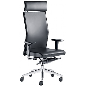 Web Leather Executive Chair £443 - Office Chairs