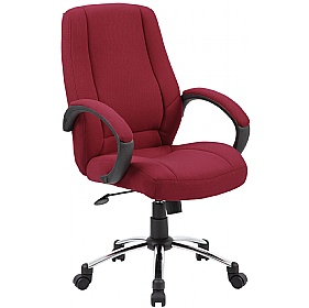 Comfort Fabric Manager Chairs £69 - Office Chairs