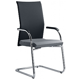 Web Fabric Cantilever Conference Chair £328 - Office Chairs