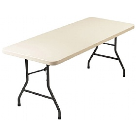 NEXT DAY Blow Moulded Rectangular Folding Tables £77 - Folding Tables