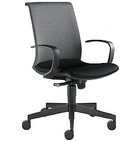 Omega Fabric & Mesh Task Chair £296 - Office Chairs