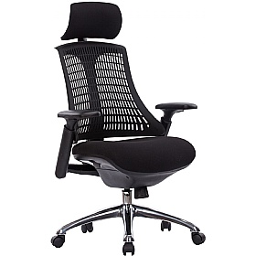Flash Ergonomic Task Chair With Headrest Mesh Chairs 100 150