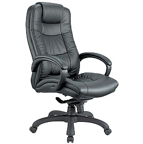 Parma Executive Leather Office Chairs £99 - Office Chairs