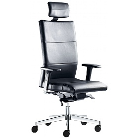 Laser Leather Executive Chair £452 - Office Chairs