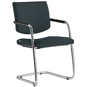 Laser Fabric Cantilever Conference Chair £243 - Office Chairs