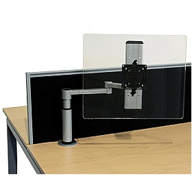 Elite Optima Plus Flex Monitor Arm Front End Adjustment £142 - Office Desks