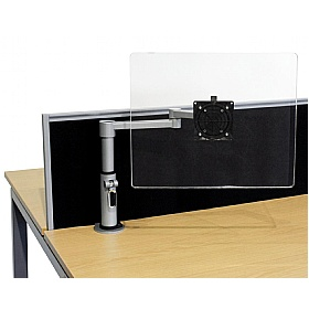 Elite Optima Plus Flex Monitor Arm Manual Post Adjustment £112 - Office Desks