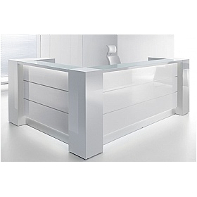 Celsius Corner Reception Desks £3432 - Reception Furniture