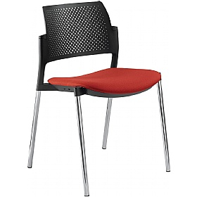 Dream+ Fabric Stackable 4-Leg Chairs £122 - Office Chairs