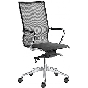 Pluto Mesh Executive Chairs £756 - Office Chairs