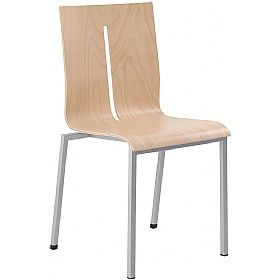 Twist Wooden Stackable Chair £176 - Bistro Furniture