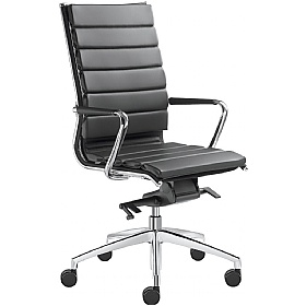 Pluto Leather Executive Chairs £849 - Office Chairs