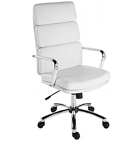 Deco Executive Chair White £139 - Office Chairs