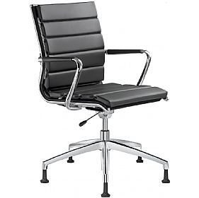 Pluto Leather Swivel Conference Chairs £773 - Office Chairs