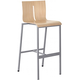 Twist Wooden Bistro Stool £215 - Bistro Furniture