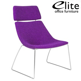 Elite Escape Lounger Chair With Headrest £394 - Reception Furniture