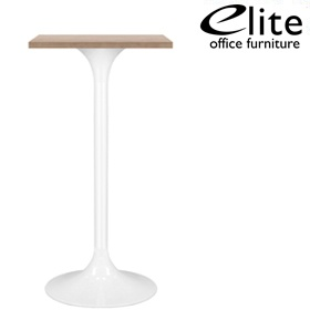 Elite Square Bar Table Trumpet Base £354 - Bistro Furniture