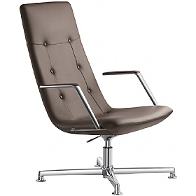 Sky Classic Leather Executive Rocking Relaxation Chair £609 - Office Chairs