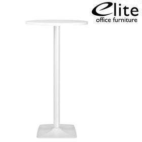 Elite Round Bar Table Pyramid Base £294 - Bistro Furniture
