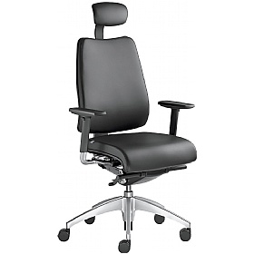 Opus Leather Executive Chair £545 - Office Chairs
